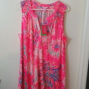 NWT Lilly Pulitzer Essie Dress XL
